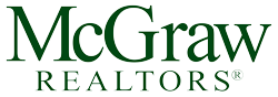 Logo of McGraw Realtors, a real estate company in Bartlesville, Oklahoma.